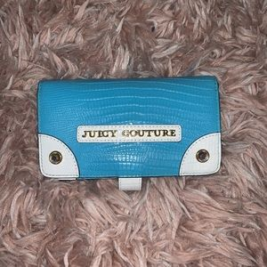 Juicy Couture Blue & White Wallet